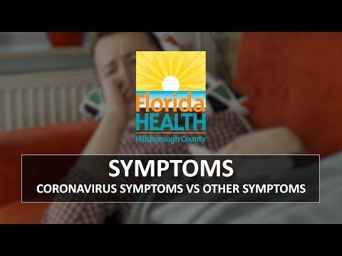 Symptoms - Coronavirus Symptoms Vs Other Symptoms