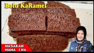 Download Cara buat Bolu karamel sarang semut bersarang banget anti bantat