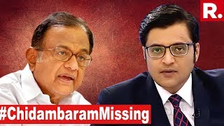 P Chidambaram Officially On The Run | The Debate With Arnab Goswami