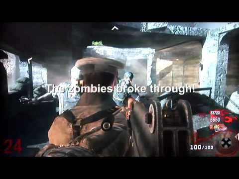 INVINCIBILITY - BLACK OPS Zombies no glitch Nacht Der Untoten Hardened Map