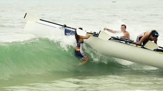 2019 World Rowing Beach Sprint Finals - Coxed Mixed Quadruple Scull beach start