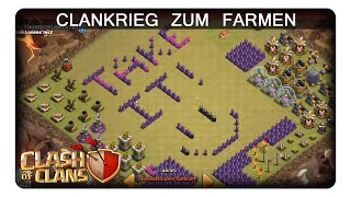CLANKRIEG ZUM FARMEN || CLASH OF CLANS | Let's Play CoC | Deutsch | German