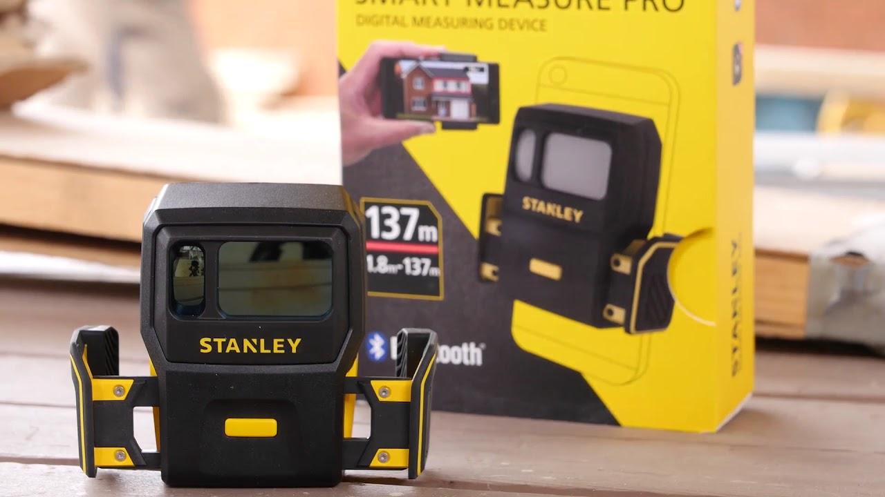 Stanley SMART MEASURE PRO Laser Messgerät Entfernungsmesser STHT1-77366 NEU