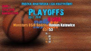 Baixar Monstars OSiR Będzin - Romus Katowice 65:53  (RALK Playoffs 2018)