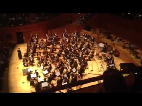 Walt Disney Concert Hall Section TERW, Row B, Seat 44