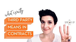 What Exactly Third Party Means In Contracts | the Spear IP Show | Nashville IP and Internet Lawyer