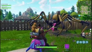 Huge *SPIDER STATUE* Found in Fortnite Season 6!!