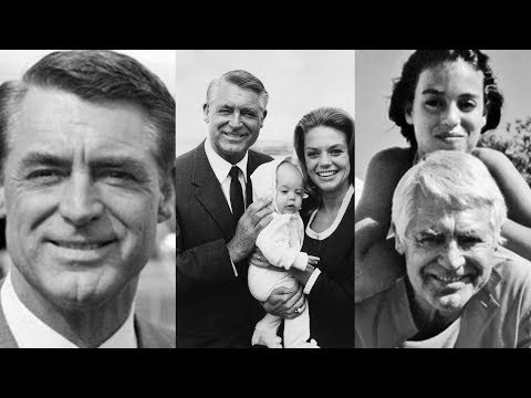 Actor Cary Grant Family Photos With Wife, Son, Daughter Jennifer, Mother Goose, Wives