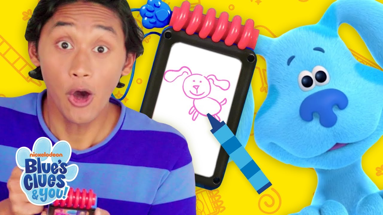 Guess the Picture w/ Josh's Handy Dandy Notebook! | Blue's Clues & You!