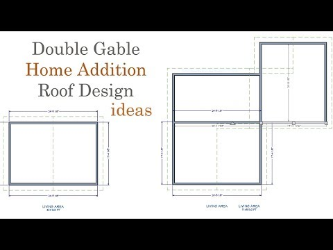 Double Gable Roof Design Ideas For Room Additions