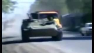 Чеченский волк танцует Чечня война 1996 г.