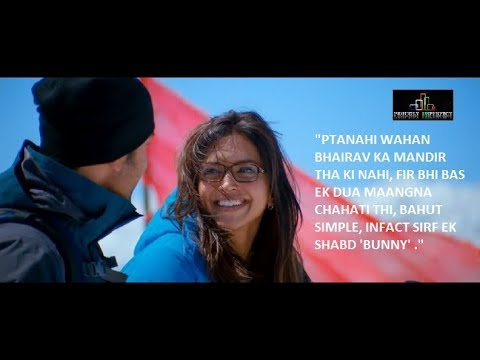 Yeh Jawaani Hai Deewani Movie In A Glimpse Quotes Best Scenes Dialogues Youtube