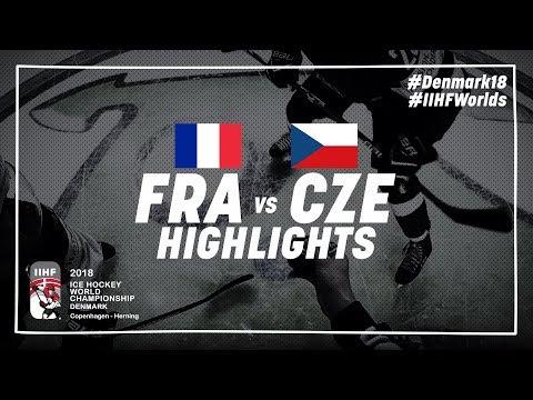 Game Highlights: France vs Czech Republic May 13 2018 | #IIHFWorlds 2018