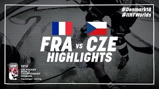 Game Highlights: France vs Czech Republic May 13 2018 | #IIHFWorlds 2018