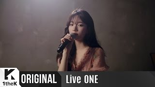 Repeat youtube video Live ONE(라이브원): Suzy(수지)_Exclusive Live Performance!_행복한 척