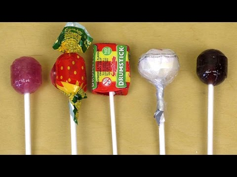 Lollipops from the United Kingdom [Kidz Lollies]