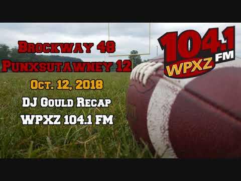Brockway 48, Punxsutawney 12 Recap (10-12-18)