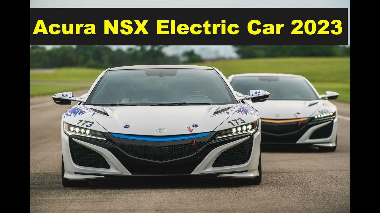 2023 Acura Nsx Electric Car Ev Concept Sh Awd