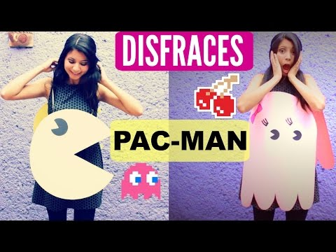 DIY Disfraces Pac Man Y Fantasmita   Pac Man And Ghost Costume