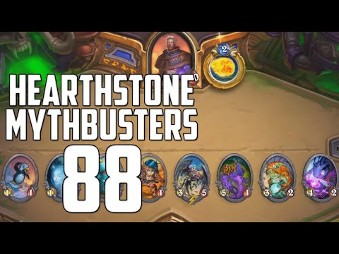 Hearthstone Mythbusters 88   8 Minions On the Board Simultaneously