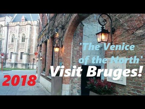Most Beautiful City in Europe? Bruges, Belgium -