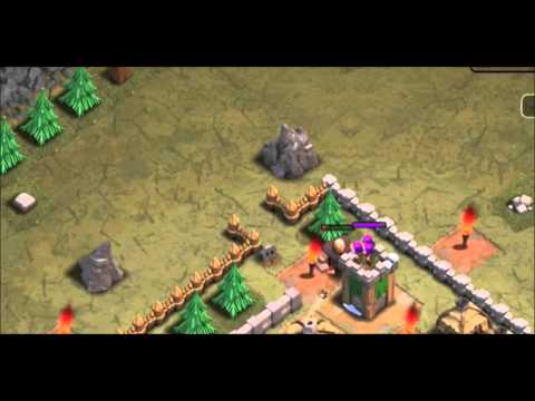 Clash Of Clans   New Archer Tower Shooting