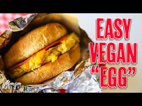 Best Vegan Egg Alternative + How to Use Chickpea (Garbanzo) Flour + Bodega Style Breakfast Sandwich