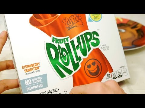 Fruit Roll Ups Unwrapping and Taste Test Review [Sir Sebastian]