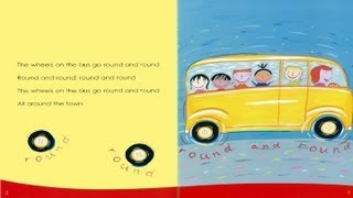 Wheels on the Bus   Kids Sing & Read Along Story   Children Love to Sing
