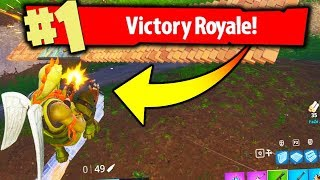 MOST INSANE GAME ENDING OF FORTNITE BATTLE ROYALE!!!