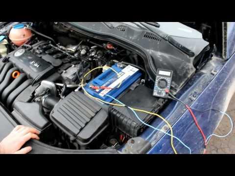 Утечка тока из аккумулятора VW passat B6. Заключительная серия