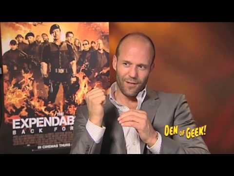 Den of Geek interview with Jason Statham for The Expendables 2.