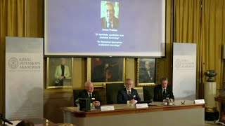 В Стокгольме объявлены лауреаты Нобелевской премии в области физики.