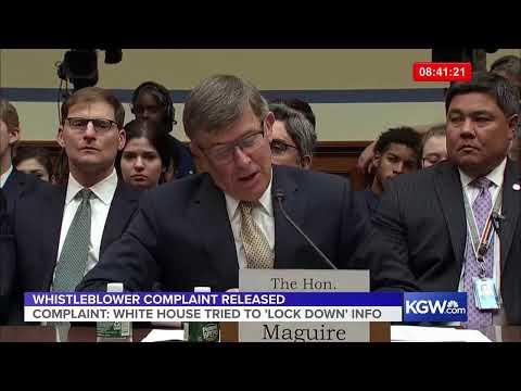 Watch live: Intelligence director testifies on whistleblower complaint