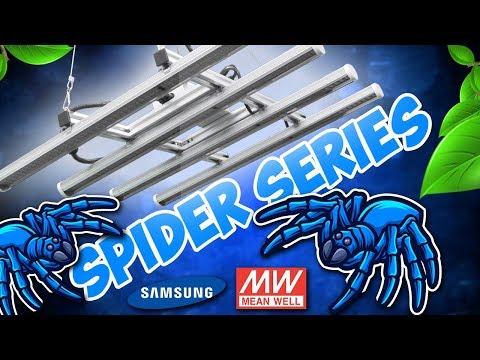 Spider Series - Lampe Horticole LED haut efficacité