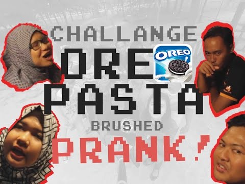 Oreo Pasta Brush PRANK! (Reunion Games of Multimedia 2015)