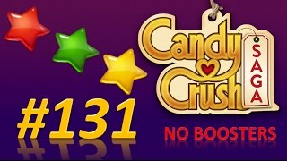 Candy Crush Saga! level 131 - 3 stars - no boosters
