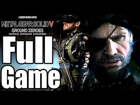 Metal Gear Solid 5 Ground Zeroes Complete Walkthrough No Commentary