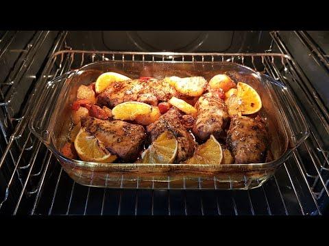 صينية الدجاج المشوي بالفرن باروع والذ تتبيله اسرع  واطيب وجبة غداء ممكن تعملوها
