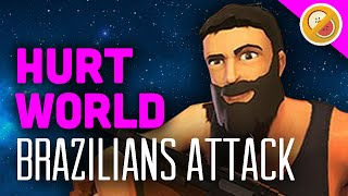 Hurtworld Gameplay : BRAZILIANS ATTACK - Funny Moments #1