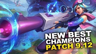 New Best Champions for Patch 9.12 Season 9 for Climbing in EVERY ROLE