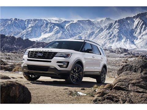 Ford Explorer 2018 Car Review