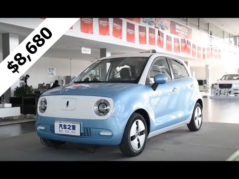 ORA R1 World's Cheapest 4 Door Electric Car