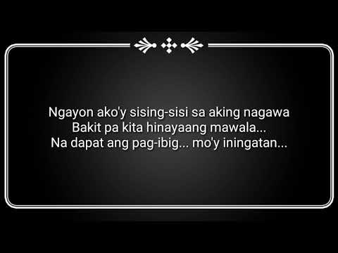 lyrics of dating tayo with spoken poetry