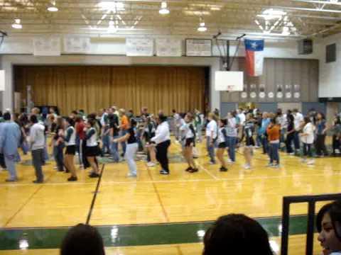 Marion High School, TX - Cupid Shuffle - 10-30-09