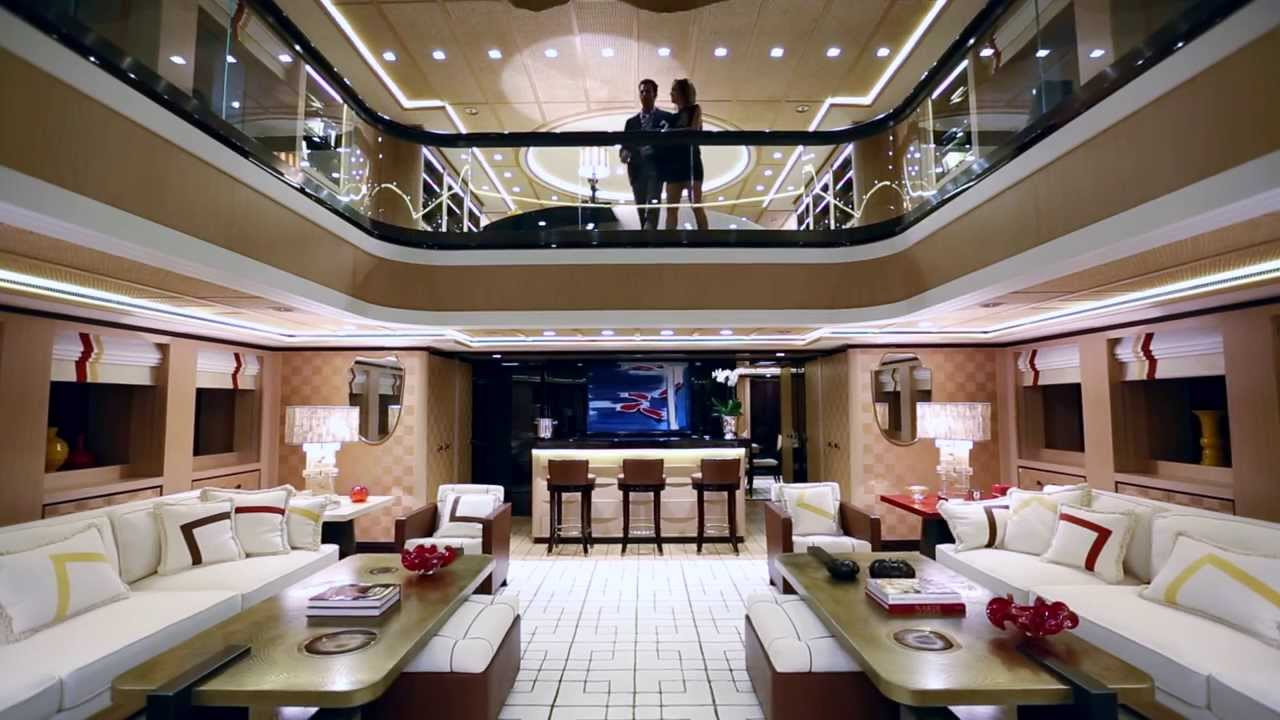 Superyacht axioma ex red square youtube for De square design and interiors