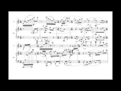 [Score-Follow] Sonatine for flute and piano - Pierre Boulez