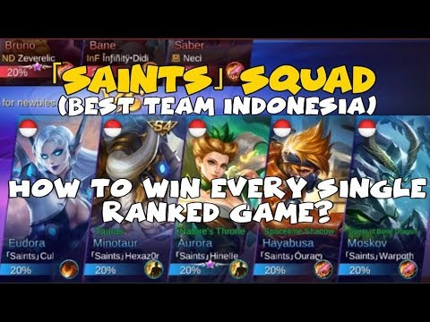 SAINT SQUAD SHOWS US HOW DO THEY WIN EVERY SINGLE GAME | INDONESIA CHAMPIONS 2017