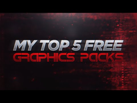 My Top 5 Favorite FREE Graphic Design Packs! (2016)