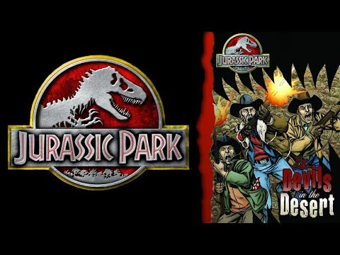 The Mystery Dinosaurs Loose on the Mainland - Devils in the Desert - Jurassic Park Comics - Part 1